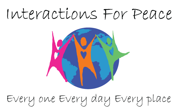 Interactions for Peace logo